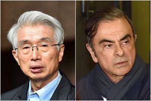 Mr Junichiro Hironaka had been representing former Nissan chairman Carlos Ghosn in his defence against various financial misconduct allegations.