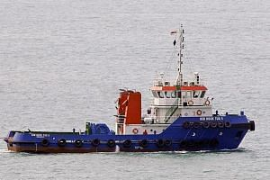 The tugboat Kim Hock Tug 9 was pulling a barge that was looted twice in five hours by pirates on Jan 18.