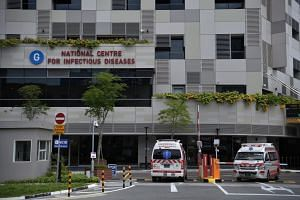 Both new cases are currently warded in isolation rooms at the National Centre for Infectious Diseases.