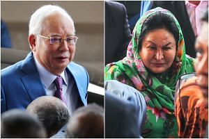 Former Malaysian prime minister Najib Razak and his wife Rosmah Mansor are accused by a former minister of exerting pressure over the Education Ministry in 2016 to award a solar hybrid project to a politically-connected company.