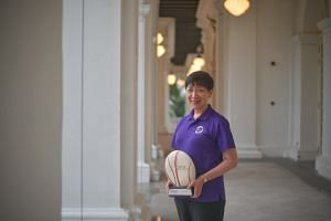 Ms Angie Chew was named The Straits Times Singaporean of the Year 2019 for her contributions to society in helping those with mental health issues, as well as the elderly.