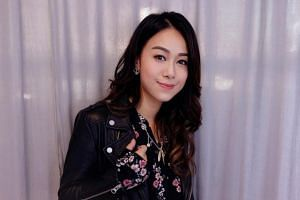 TVB actress Jacqueline Wong has downplayed the romance talk.