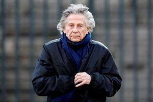 Polanski (above) tops the list of nominations for the 2020 Cesar awards.