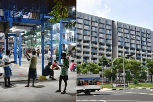(From left) S11 Dormitory @ Punggol and Sungei Tengah Lodge.