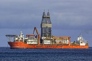 The Petronas-operated West Capella vessel.