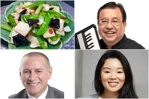 Things to look forward to in the coming weeks include local jazz pianist Jeremy Monteiro's livestream concert (top left) and ST Masterclass courses by presentation coach Steve Dawson and a founder of Write Edge Nicolette Ng.