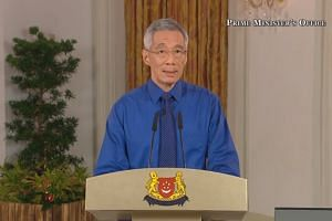 Prime Minister Lee Hsien Loong called on all Singaporeans to stay home as far as possible.