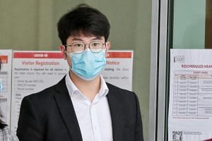 Tay Chun Hsien was fined $1,500 after pleading guilty to an offence under the Infectious Diseases Act.