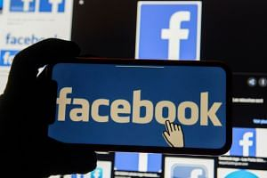 Facebook said networks in the US had been pushing coronavirus-related disinformation.