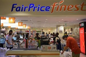 A photo of FairPrice Finest at Junction 8 on April 30, 2020.