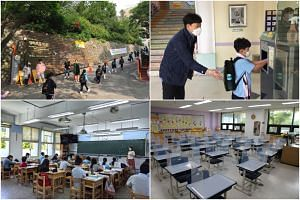 Schools across Asia have reopened in recent weeks.