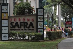 The man is linked to the cluster involving the private dinner function at Safra Jurong.