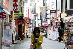 New infections were found mostly in Seoul, despite a strict social distancing policy being extended indefinitely.