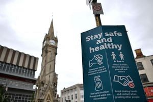 The city of Leicester has a much higher Covid-19 infection rate than anywhere else in the UK.