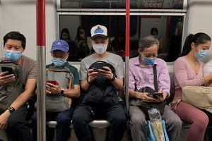 People who refuse to wear a mask on public transport face a potential HK$5,000 (S$899) fine.
