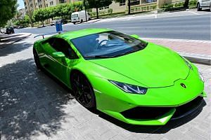 David Hines bought a Lamborghini Huracán sports car for US$318,497 on May 18, 2020.