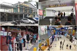 Block 4A Jalan Batu Hawker Centre, Lucky Plaza, VivoCity and Geylang Serai Market and Food Centre had the most number of repeated visits.