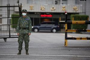 Taiwan has repeatedly complained that China has stepped up military threats in recent months.