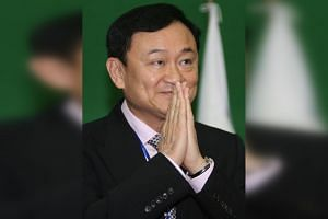 It is believed former Thai prime minister Thaksin Shinawatra contracted the virus after visiting a food court.