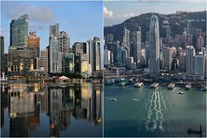 Hong Kong is the 10th place that Singapore has made special travel arrangements with.