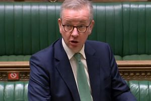 Senior minister Michael Gove told parliament that here's no point in negotiations proceeding as long as the EU sticks with their position.