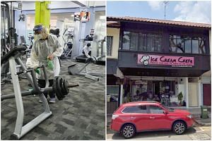 The Anytime Fitness gym at Nanyang Community Club and Ice Cream Chefs in Upper Thomson were among the new places visited by Covid-19 patients while they were infectious, said MOH.