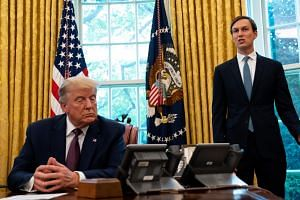 Jared Kushner said Donald Trump had won a battle for control with doctors trying to understand how to combat the virus.