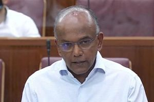 Minister for Home Affairs and Law K. Shanmugam highlighted in Parliament Mr Karl Liew's inconsistent answers during the trial.