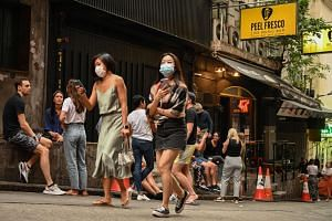 Hong Kong had ordered bars, pubs, nightclubs and saunas to close again from Nov 26 for a week.