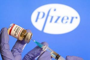 The Pfizer-BioNTech vaccine must be stored at ultra cold temperatures of negative 70 deg C, thus requiring special freezers.