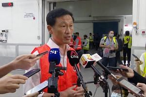 Transport Minister Ong Ye Kung said the Republic has the capabilities to make sure the process is secure and that there is adequate capacity.