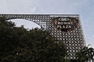 The Crowne Plaza Changi Airport hotel has been closed from Friday until Jan 21 as a precautionary measure.