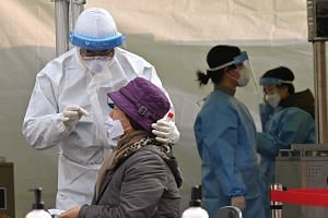 South Korea reported 524 cases of the coronavirus on Thursday, raising the total to 70,728.