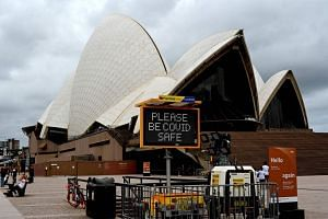 Australia's new infections rose to 18, of which 12 involved returned travellers, health officials said.