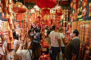 Chinese New Year visits should be limited to family members, and to not more than two other households a day.