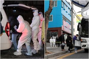 More than 100 cases were confirmed overnight among people linked to a church and its mission school in Gwangju.