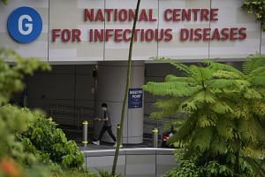 The Singaporean tested positive for Covid-19 in Indonesia and was medically evacuated to the NCID for treatment.
