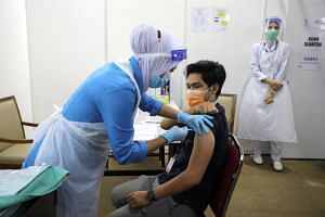 A total of 80,336 people in Malaysia have received the first dose of the Covid-19 vaccine as of March 3.