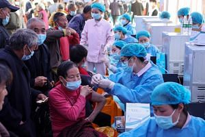 China faces an uphill task in meeting its target of vaccinating 40 per cent of its population by the end of June.