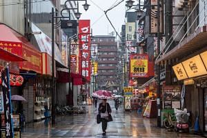 """Osaka and several other prefectures have been in a """"quasi-emergency"""" state for two weeks."""