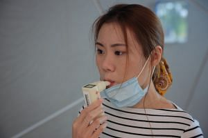 The TracieX breathalyser by Singapore medtech firm Silver Factory Technology.