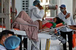The panicked hunt for hospital beds is a recurring theme across India as it battles its second wave of Covid-19 infections.