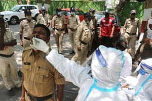 India now accounts for one of three new cases in the world.