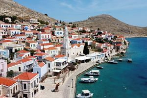 European countries like Greece (pictured), Spain, Italy, Portugal and Croatia welcome millions of US tourists each summer.