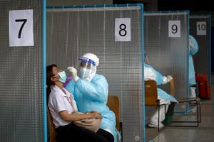 Thailand's health ministry reported 1,891 new cases on May 1, 2021.