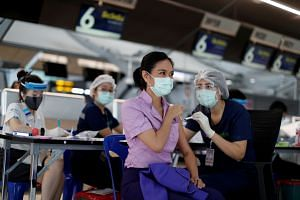 Thailand aims to have 70 per cent of the population vaccinated against Covid-19 by the end of the year.