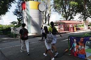 About 2,200 students, staff and vendors at Victoria Junior College have tested negative for Covid-19