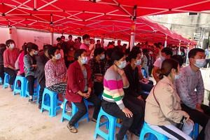 Two of the new cases were local infections in the eastern province of Anhui.