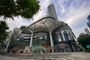 The cleaner at Ion Orchard is employed by Hong Ye Group.