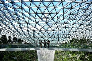 Jewel Changi Airport reopened on Monday, after a month-long closure to stem the spread of a Covid-19 cluster.